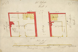 [Plan of property on Bread Street] 119B